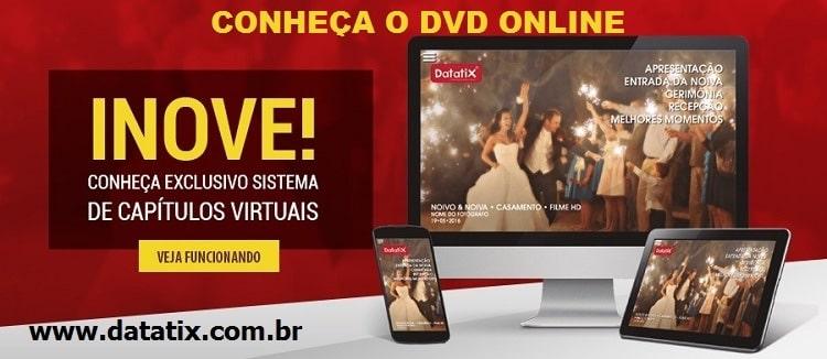 DVD online sistema de video streaming com capitulos virtuais chapters