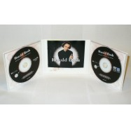Digipack CD com 3 painéis e 2 bandejas tray transparente