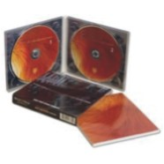 Digipack 2 paineis e 2 bandejas cd , com luva e tray transparente