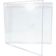 capa cd box slim - 7mm transparente